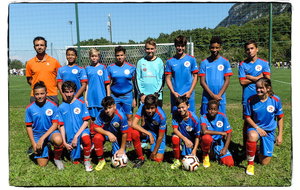 NOS U15 TERMINENT 2IEME DU TOURNOI A BEAUMONT COLLONGES
