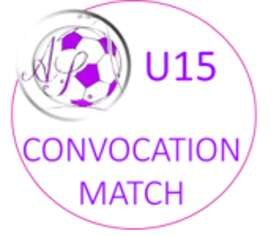 Convocation U15 coupe